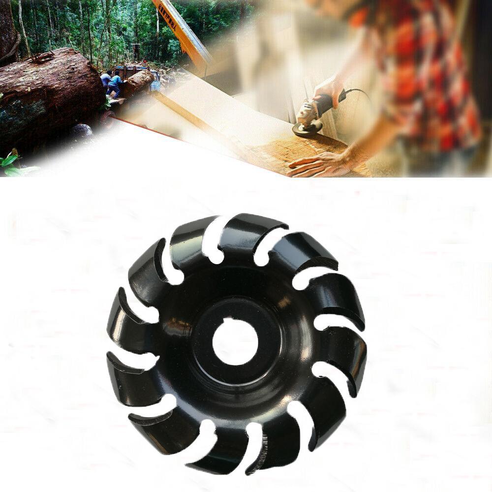 DishyKooker meuleuse d'angle électrique formant la lame outils de coupe de disque de sculpture sur bois 90mm/16mm - 4