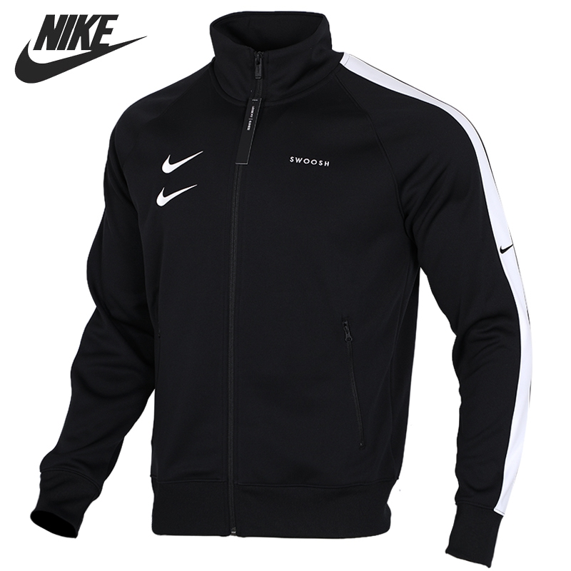 Original New Arrival  NIKE M NSW SWOOSH JKT PK Men's  Jacket Hooded  Sportswear