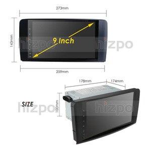 Android 10 4G 64G Автомобильный GPS для Mercedes Benz ML GL W164 ML350 ML500 GL320 X164 GL350 GL450 Радио Стерео навигация без DVD