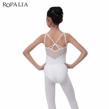 Children Vestidos Solid Large Size Dress Party Dresses Kids Girl Dance Leotard Bodysuit Ballet Costume Tops - discount item  15% OFF Stage & Dance Wear