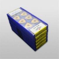 10 stücke WNMG080412 DM YBC251 Geeignet für verarbeitung stahl teile Freies verschiffen auf
