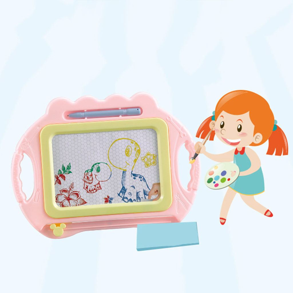 Children Painting Drawing Graffiti Board Toy Preschool Tool For Baby Toddler