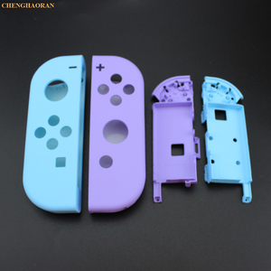 Image 2 - 1Set Candy Color Combine for Nintend Switch Joy Con Replacement Housing Shell Cover Joy Con Controller hard Case Pink Blue