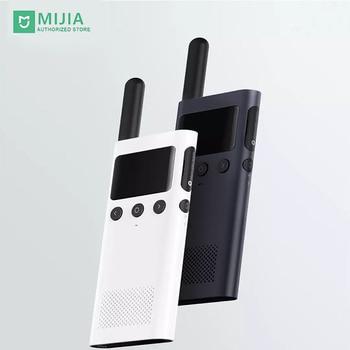 Stock Mi Xiaomi 1S Smart Walkie Talkie Radio LED Display USB 4.2 Bluetooth Handy Thin Outdoor 2190mAh 5 Days Standby 12dB