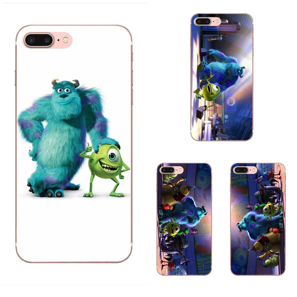 Monsters Inc For Apple iPhone 11 Pro X XS Max XR 4 4S 5 5C 5S SE SE2 6 6S 7 8 Plus Soft Silicone TPU Transparent Case Protective