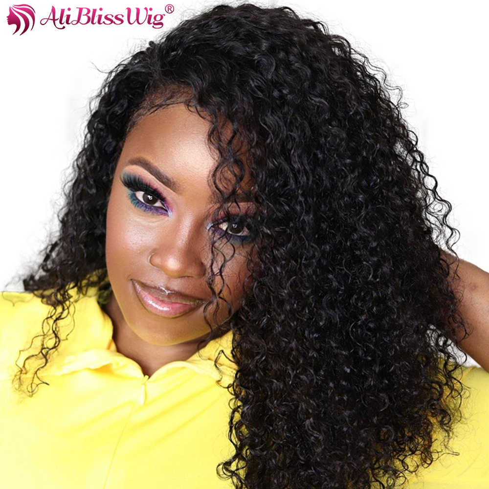 360 Lace Frontal Wig Curly Lace Front Human Hair Wigs Pre Plucked Brazilian Remy 360 Lace Wig Human Hair Wigs Women Baby Hair
