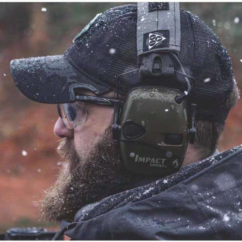 BF New Arrive Tactical Hunting Baseball Hat Outdoor Shooting Peak Cap For Airsoft - Black