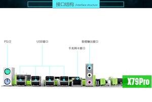 Image 3 - Atermiter X79 Pro Scheda Madre LGA 2011 USB2.0 SATA2 Supporto REG ECC Memoria e Xeon E5 Processore