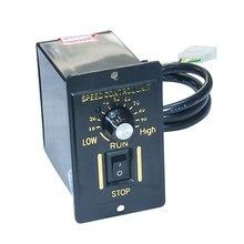 цена на AC Electric Motor Speed Controller 110V 6/15/25/40/60/120W 220V 6/15/25/40/60/120/180/200/250W Controller for AC Gear Motor
