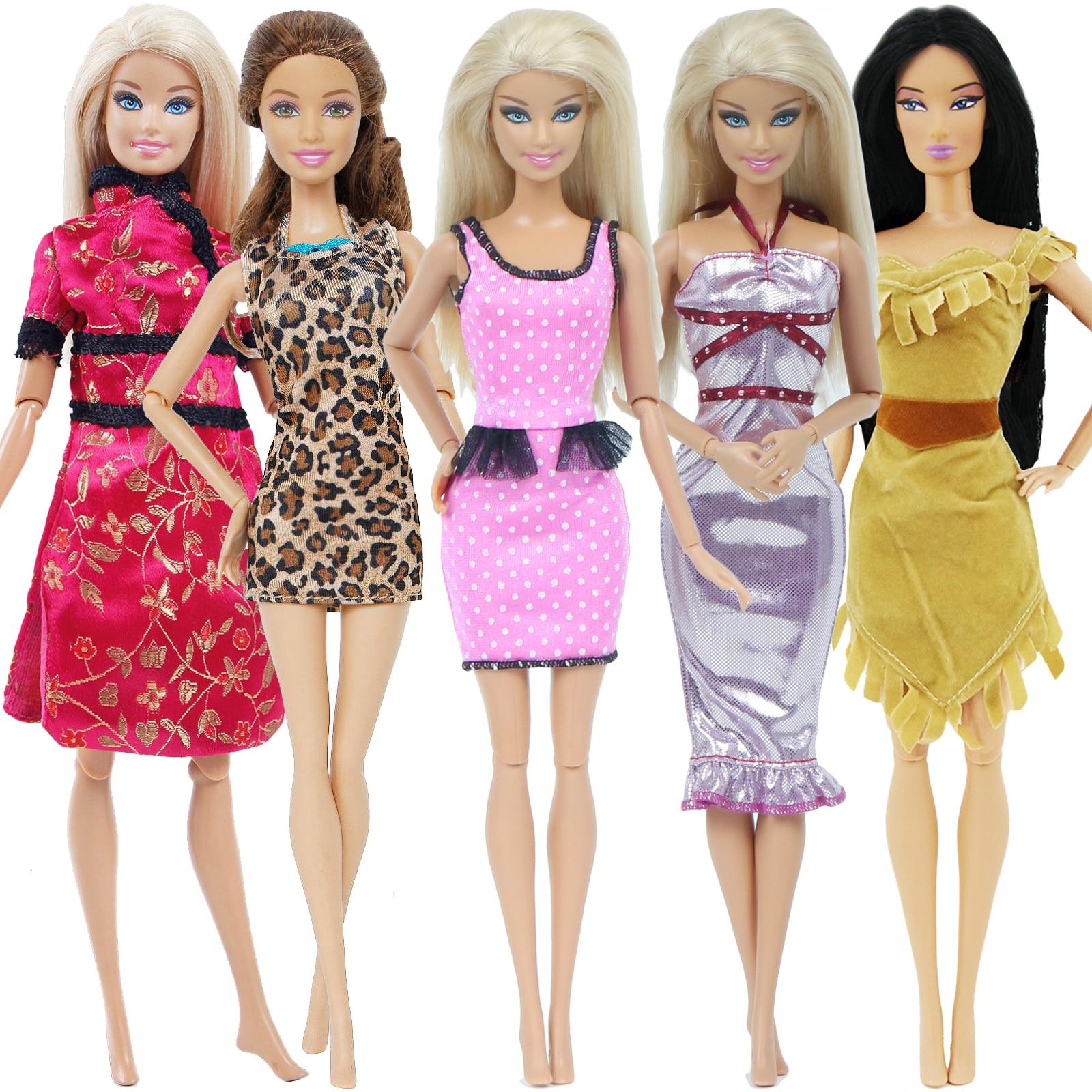 Handmade clothing Layers Skirt for 1:6 scale doll Barbie Blythe # polka dot A-10