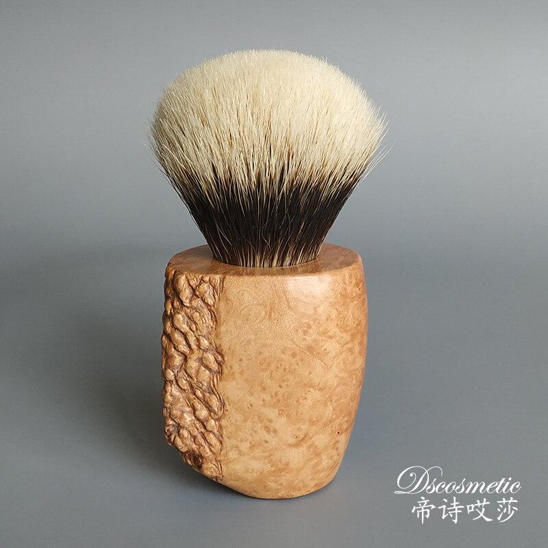 Dscosmetic Manchúria pêlos de texugo barbear escova