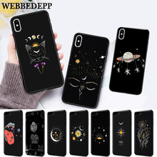 WEBBEDEPP Art Sun Flowers Cat Silicone soft Case for iPhone 5 SE 5S 6 6S Plus 7 8 11 Pro X XS Max XR