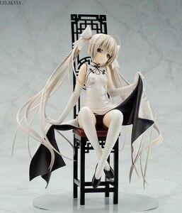Image 1 - Skytube Yosuga no Sora Kasugano sora Sexy Girl Dress Cheongsam Ver. Anime PVC Action Figure Collection Model Toys New lelakaya