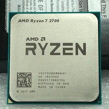 AMD Ryzen 7 2700 R7 2700 3,2 GHz Acht Core Sinteen Gewinde 16M 65W CPU Prozessor YD2700BBM88AF Buchse AM4