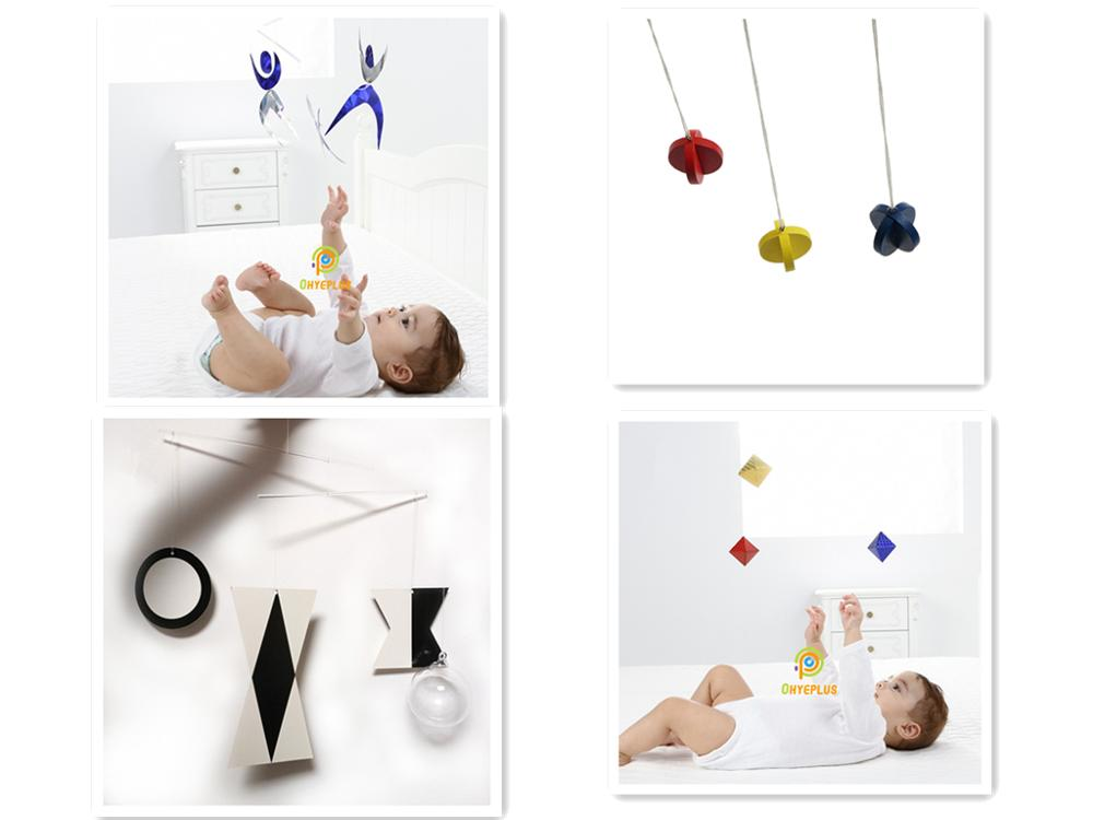 4 Sets Classic Montessori Mobiles Early Development Toys For 0~3 Months Visual Sense And Focus Exercises Early Educational Toys