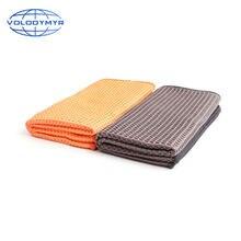 Вафельная Ткань микрофибра полотенце кромка спонж для автомойки