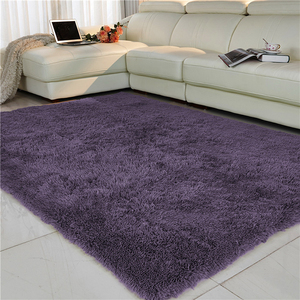 Soft Shaggy Carpets For Living Room European Home Warm Plush Floor Mats Rugs Fluffy Mats Kids Room Bedroom Area Rug Mats Carpet