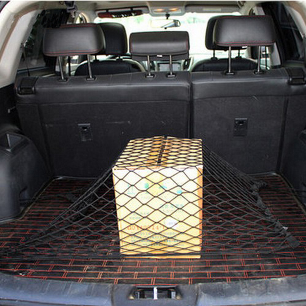 Image 5 - CAR TRUNK ENVELOPE CARGO NET FOR Mercedes Benz W211 W203 W204 W210 W124 AMG W202 CLA W212 W220 W205 W201 A Class GLA accessories-in Car Stickers from Automobiles & Motorcycles