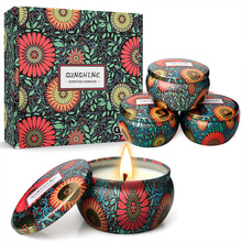 Aromatherapy Candles Essential Oil Candles Smokeless Scented Candle Set Velas Aromaticas 2 1inch round magic cube candle soy wax aromatherapy candles scented candle relaxing birthday gift