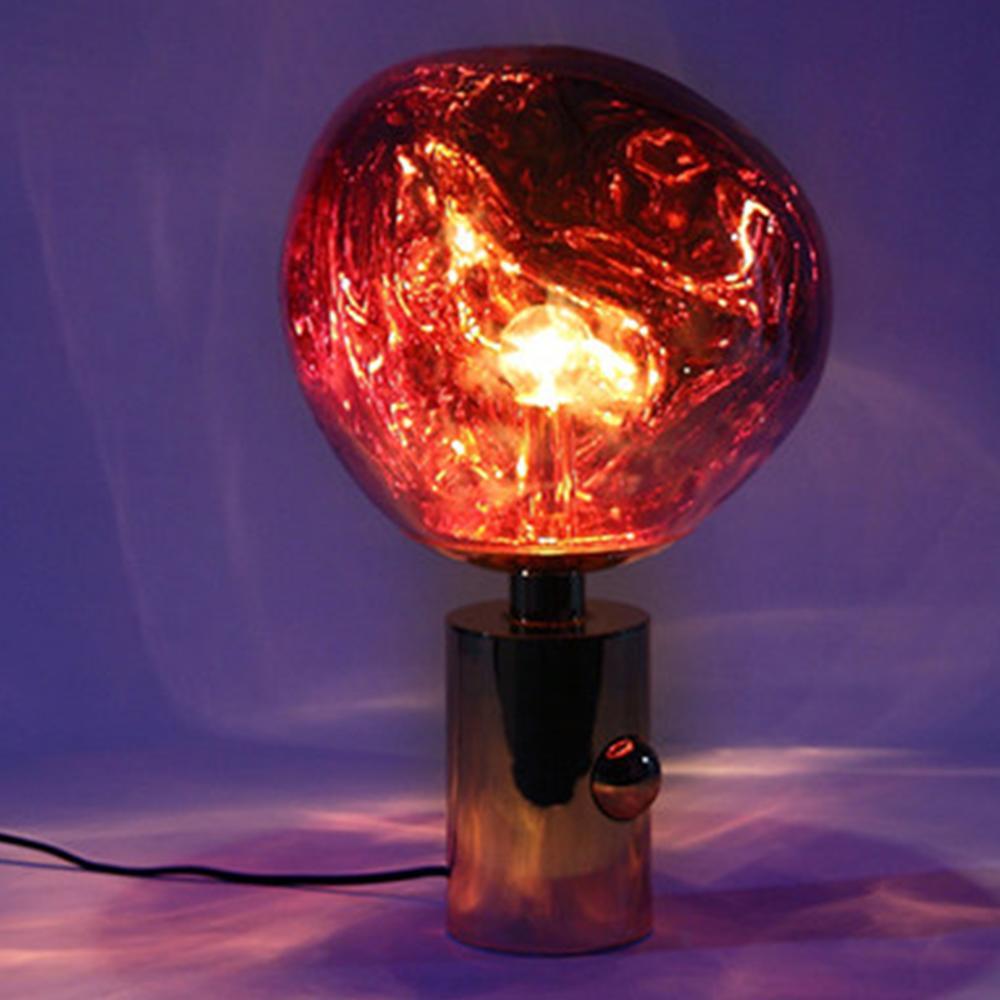Nordic Vulkanische Lava Tafellamp, Postmoderne PVC Bureaulamp, nachtkastje voor Slaapkamer Bedside Studeerkamer 10 x 17 - 3