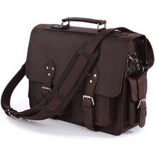 Vintage Crazy horse leather men travel bag Luggage