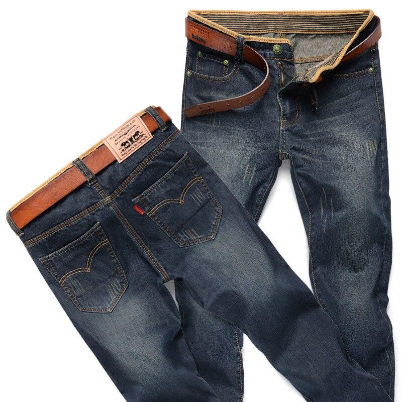 For 2019 MEN'S Jeans Korean-style Fashion Man Straight Slim 087 MEN'S Wear Long Pants