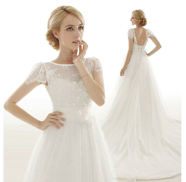 Bridal Gown Free Shipping Cheap 2018 Fashionable Romantic Cap Sleeve Vestido De Noiva Casamento Mother Of The Bride Dresses