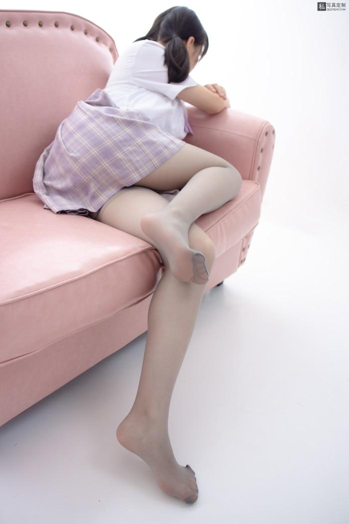 ★丝模写真★森萝财团-JKFUN-021@15D灰丝新人匿名[45P/1V/1.37G]插图1