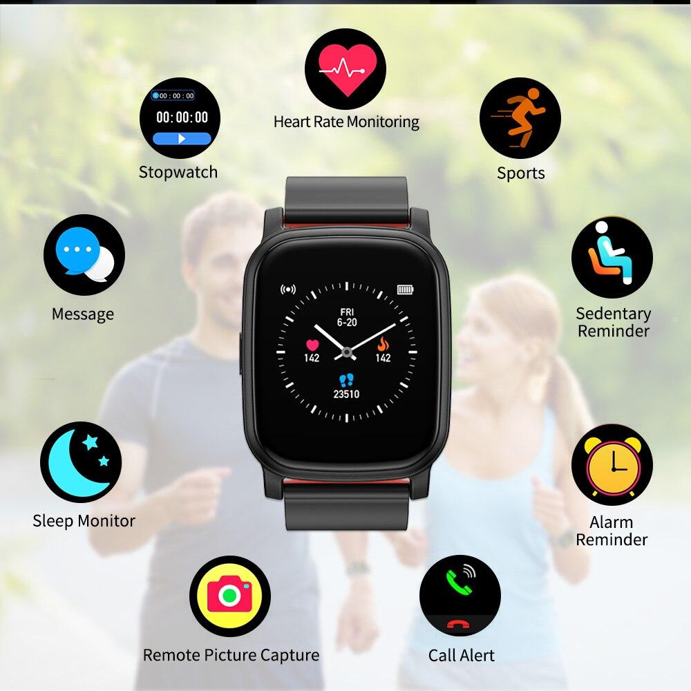 Nennbo ts01 relógio inteligente tela cheia toque