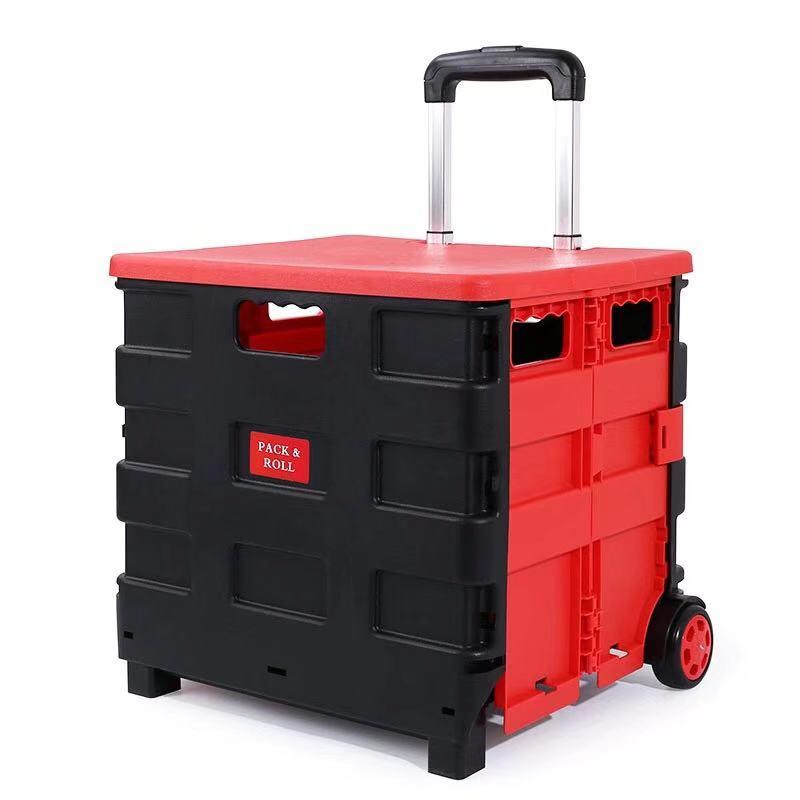 Caja de almacenamiento de maletero plegable de coche caja de almacenamiento de plástico multifunción contenedor caja de acabado camión maletero-in Cajas y recipientes de almacenamiento from Hogar y Mascotas    3