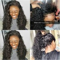 Natural Ombre Color Knky Curly Hd Lace Front Human Hair Wig Short Bob Jet Black Wig 99j Red Lace Front Brazilian Remy Hair Wig