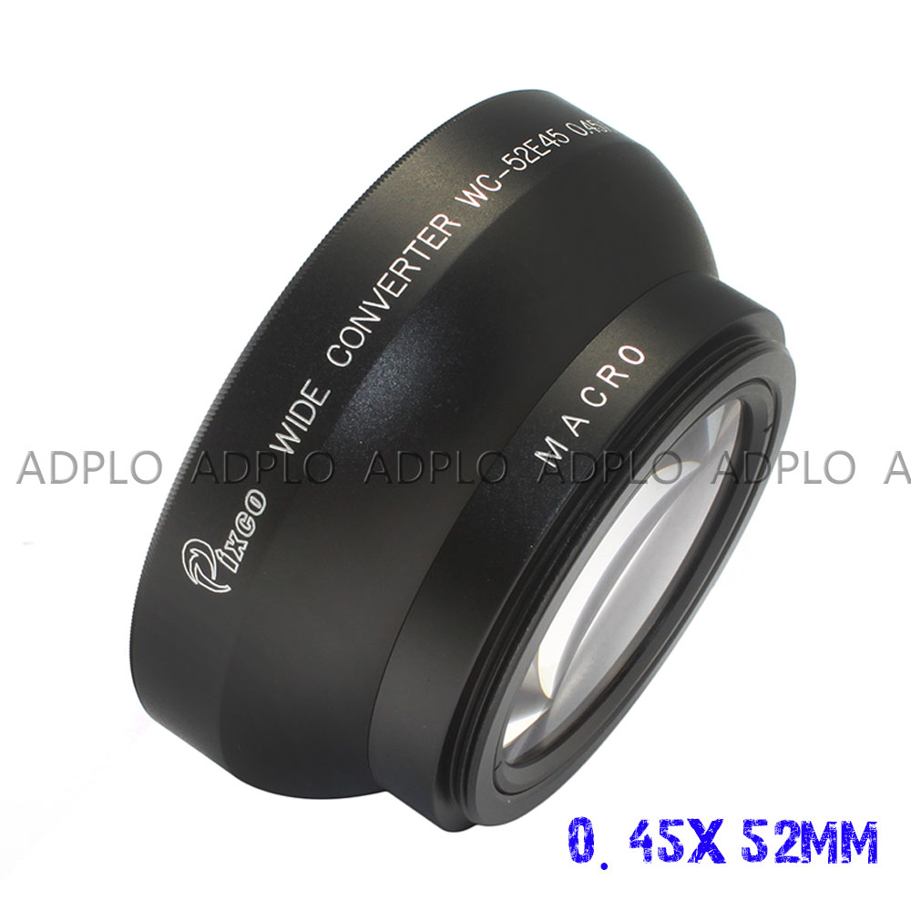 Pixco 58mm Metal Standard Screw in Mount Lens Hood for Canon Nikon Pentax Olympus Sony