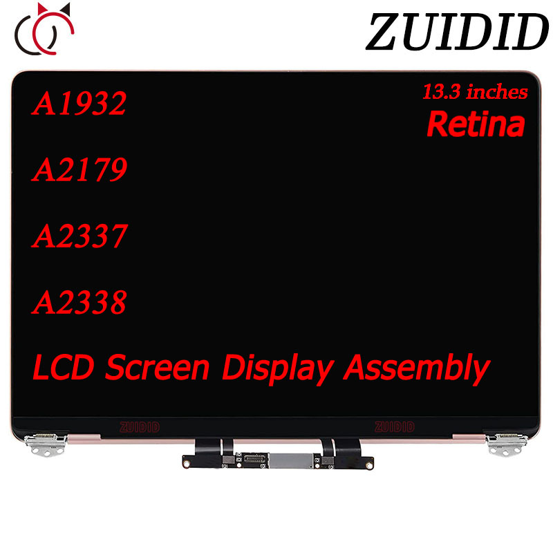 """Brand New LCD Screen For Macbook Air A1932 A2179 A2337 A2338 13.3"""" 2018 2019 2020 Year LCD Screen Display Assembly Replacement"""