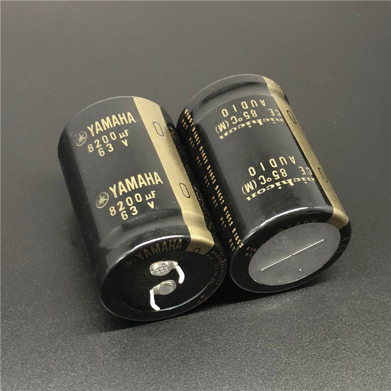2pcs 8200uF 63V NICHICON For YAMAHA Audio 30x45mm 63V8200uF HiFi Audio Capacitor