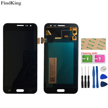 TFT OLED LCD Display For Samsung Galaxy J3 2016 J320 SM-J320F J320M J320Y LCD Display Assembly  Touch Screen Digitizer Tools