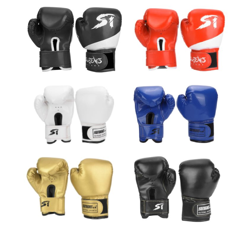 Kids MMA Boxing Glove Thai Gym Gloves Trainning Sparring Kick Boxing