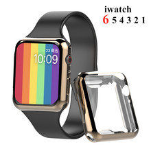 Watch-Cover Case Screen-Protector 42MM 38MM 44MM 360 Slim Soft for Apple 6-5/4/3/2-1