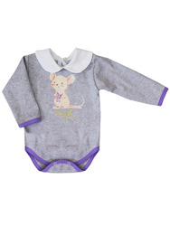 Боди для девочки одежда для малышей КотМарКот Сладкая мышка, 9200361