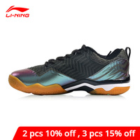 Li Ning Men SONIC BOOM KNIT Professional Badminton Shoes LN BOUNSE+ Cushion LiNing li ning Wearable Sport Shoes AYZN011 XYY073