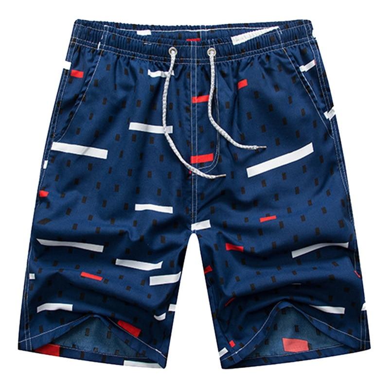 Summer Quick Dry New Men's Beach Shorts Summer Sports Board Print Pants Casual Fashion Swimming Shorts Oversized шорты мужские 5