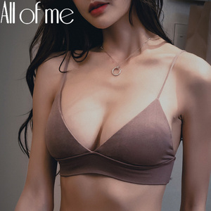 S/M/L Sexy Bra Women Brassiere Underwear Female Push Up Bra Solid Color Wirefree Bralette for Girls Seamless Intimates Lingerie