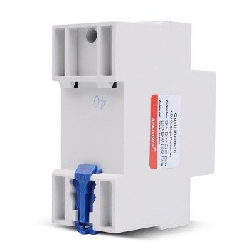 Control de relé de voltaje ajustable, protector de sobre e infravoltaje, 220V 63A 40A, dispositivos de protección de sobrecorriente, carril din 2