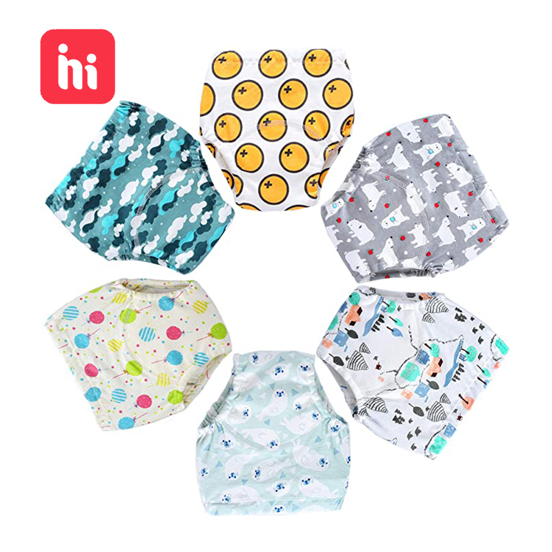 Baby Cotton Training Pants Panties Baby Diapers Reusable Cloth Diaper Nappies Washable Infants Children Underwear Nappy Changing|Cloth Diaper| - AliExpress
