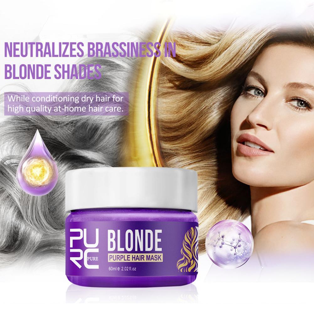 Anti-Brassy Silver Hair Mask