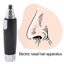 Электрический триммер для носа для мужчин и женщин, триммер для ушей в носу, безопасный триммер для удаления волос в носу и ушах, триммер для бритья, инструмент для личной гигиены
