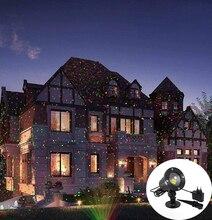 クリスマススカイスターレーザー光シャワーレッド & グリーンステージ効果光防水屋外ガーデンパーティークリスマス装飾芝生ライト