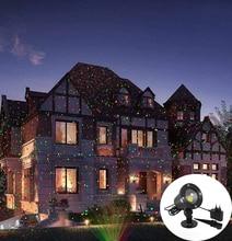 Céu de natal estrela luz laser chuveiro vermelho & verde efeito palco luz à prova dwaterproof água ao ar livre festa do jardim natal gramado decorativo luz