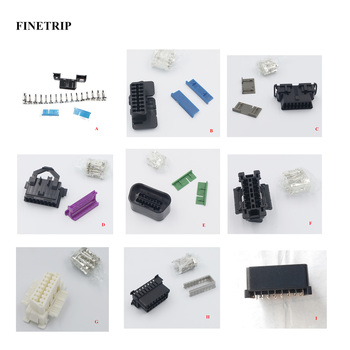FINETRIP Wholesale J1962F Interface Shell DIY 16pin OBD-II Plug car obd2 female connector image