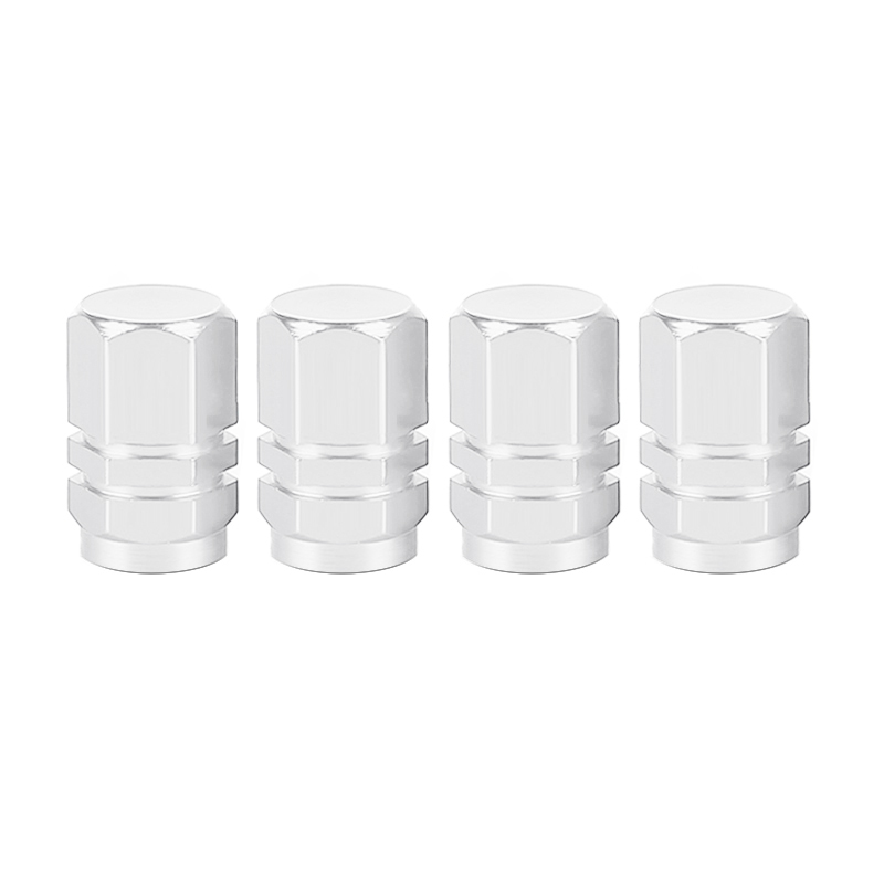 4PCS Air Caps Airtight Cove Levert Bolt-in Aluminum Theftproof Wheel Tires Valves Tyre Stem Car Tire Valve Stem Caps