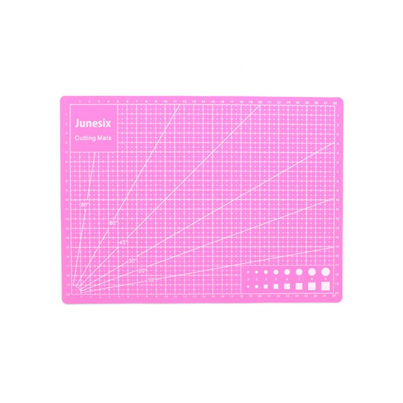 Multi-Purpose Model Cutting Pad Cutting Paper Cutting Board Rubber Stamp Engraving Mat Measuring Scale Board LX9A